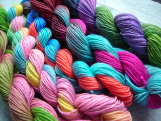 Skeins finished