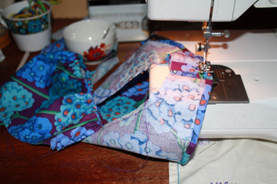 Sleeve sewing