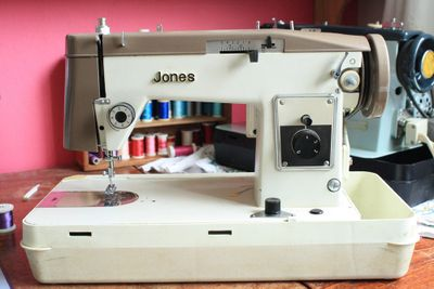 Mum's jones machine