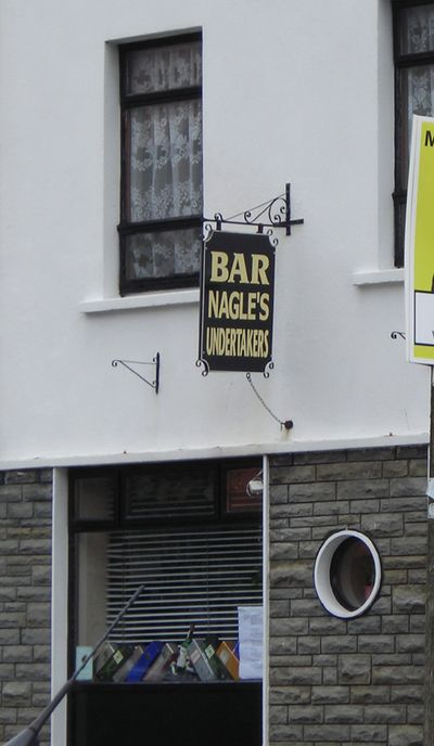 Bar undertakers